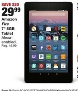 "Amazon Fire 7"" 8GB Tablet (Alexa Enabled)"