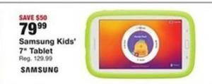 """Samsung Kids 7"""" Tablet"""