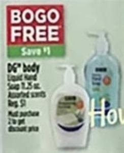DG Body Liquid Hand Soap