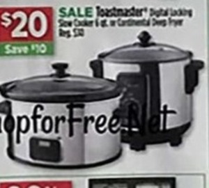 Toastmaster Digital Slow Cooker
