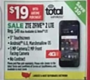 Total ZTE Zfive 2 LTE