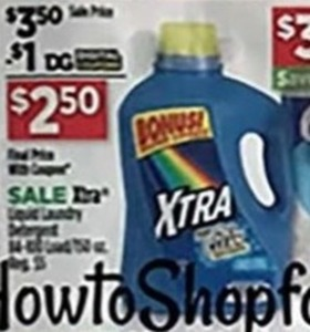Xtra Liquid Laundry Detergent