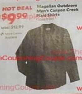 Men's Magellan Outdoors Canyon Creek Plaid Shirts