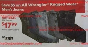 Men's Wrangler Rugged Wear Jeans