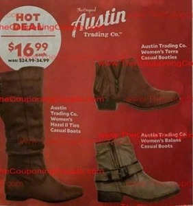 Austin Trading Co. Women's Terra Casual Booties