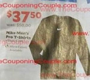 Men's Nike Pro T-Shirts