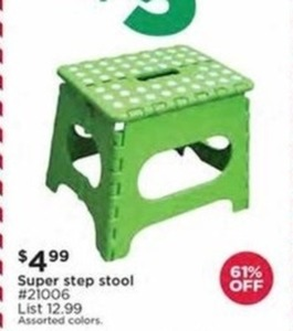 Super Step Stool