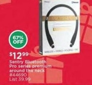 Sentry Bluetooth Pro Series Premium Around-the-Neck