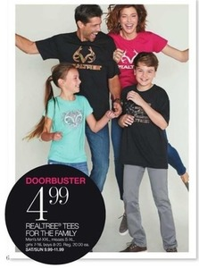 Realtree Tees for the Family