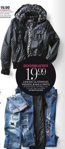Juniors' Outerwear, Fashion Jeans & Pants