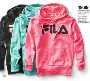 Women's Fila Hoodies