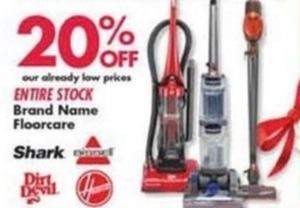 Entire Stock Brand Name Floorcare