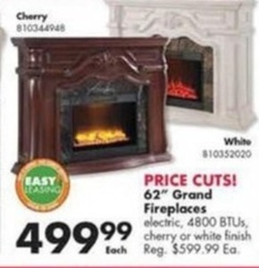 "62"" Grand Fireplaces"