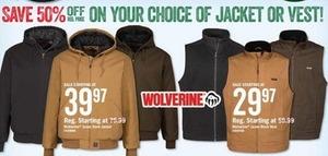Wolverine Jaxon Duck Vest