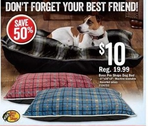Bass Pro Shops Dog Bed