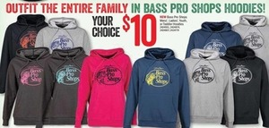 Bass Pro Shops Mens', Ladies', Youth, or Toddler Hoodies