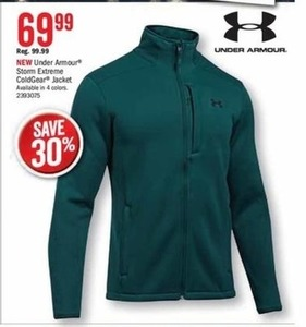 Under Armour Storm Extreme ColdGear Jacket