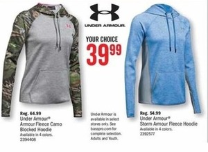 Under Armour Armour Fleece Camo Blocked Hoodie