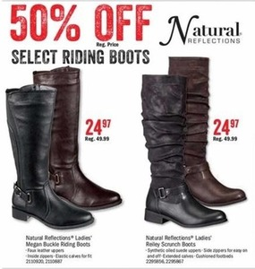 Natural Reflections Ladies' Reiley Scrunch Boots