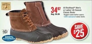 RedHead Men's All-Season Classic Boots