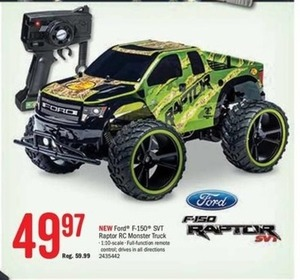 Ford F-150 SVT Raptor RC Monster Truck
