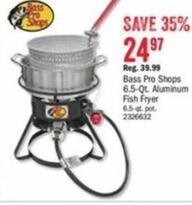 Bass Pro Shops 6.5-Qt Aluminum Fish Fryer