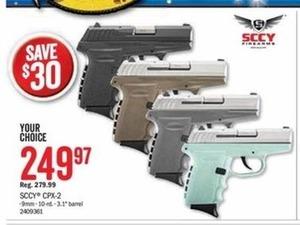 SCCY CPX-2 9mm Gun