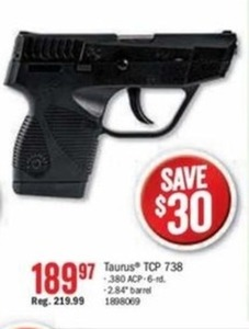 Taurus TCP 738
