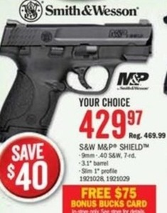 S&W M&P Shield Handgun