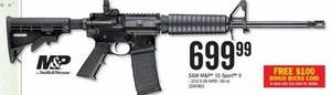 S&W M&P 15-Sport II + Free Bonus Bucks Card Instore Only