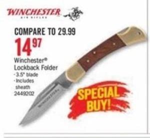 Winchester Lockback Folder