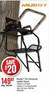 Muddy The Huntsman Ladder Stand