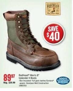 "Redhead Men's 8"" Uplander II Boots"