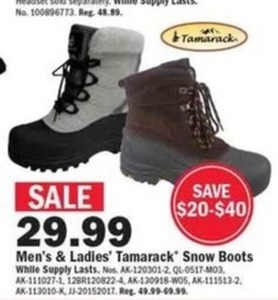 Men's Tamarack Snow Boots