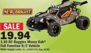 New Bright 1:10 RC Buggles Mossy Oak R/C Vehicle