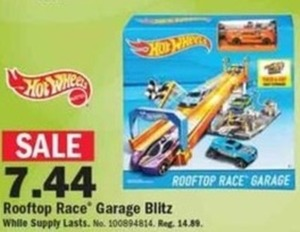 Hot Wheels Rooftop Race Garage Blitz