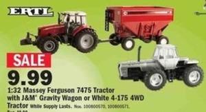 Massey Ferguson 7475 Tractor w/ J&M Gravity Wagon