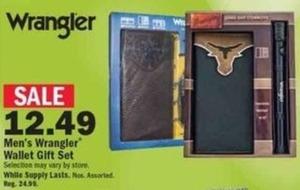 Men's Wrangler Wallet Gift Set