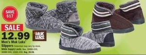 Men's Muk Luks Slippers