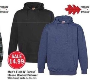 Men's Field N' Forest Fleece Hooded Pullover