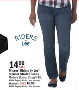Misses' Riders by Lee Slender Stretch Jeans