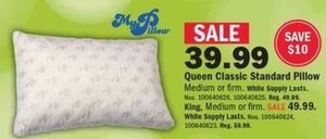 Queen Classic Standard Pillow