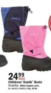 Children's Kamik Boots