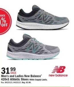 Men's and Ladies New Balance 420v3 Athletic Shoes