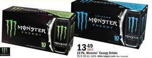 10 Pk. Monster Energy Drink
