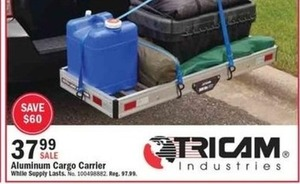 Tricam Aluminum Cargo Carrier