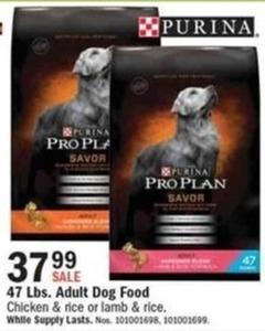 Purina 47lbs. Adult Dog Food