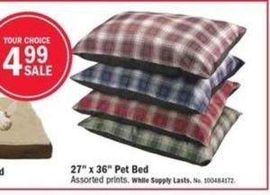 """27"""" x 36"""" Pet Bed"""
