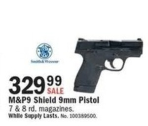 M&P9 Shield 9mm Pistol