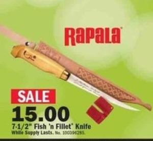 """7.5"""" Fish' n Fillet Knife"""